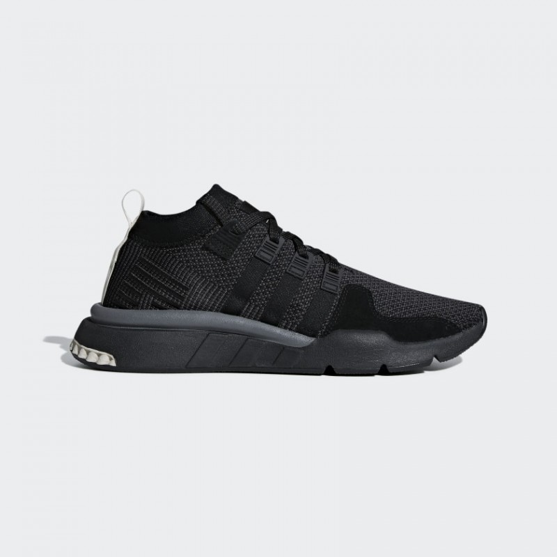 EQT Support Mid ADV Chaussures Noir/Carbon/Clear Marron DB3561