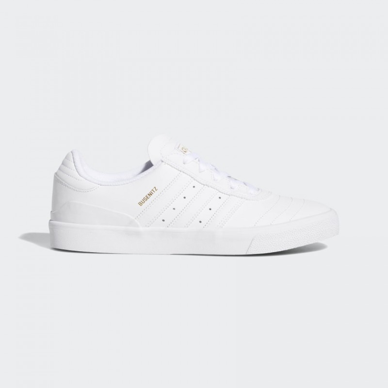 Busenitz Vulc RX Chaussures Blanche/Blanche/Or Metallic F34203