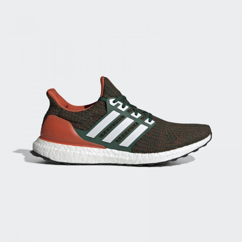 Adidas Ultra Boost 4.0 Miami Hurricanes - EE3702