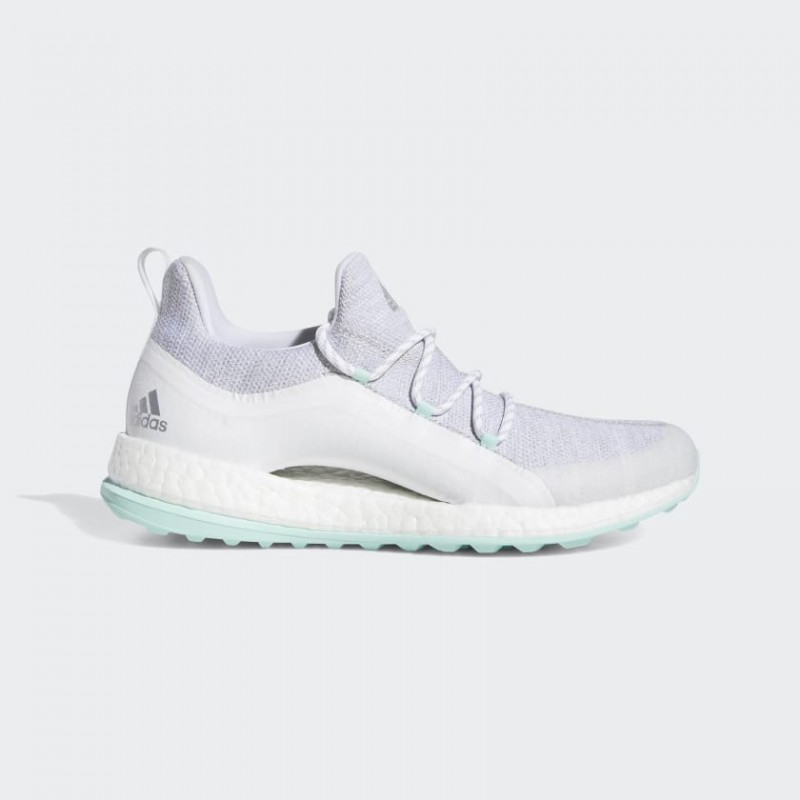 Pureboost Golf Chaussures Blanche/Gris Two/Clear Mint BB8013