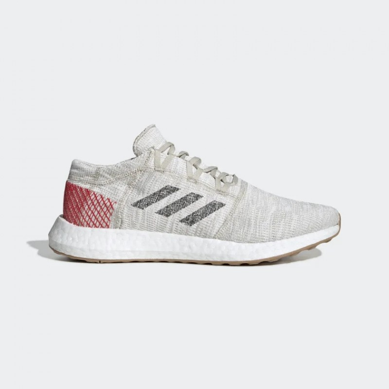 Pureboost Go Chaussures Clear Marron/Carbon/Active Rouge B37805