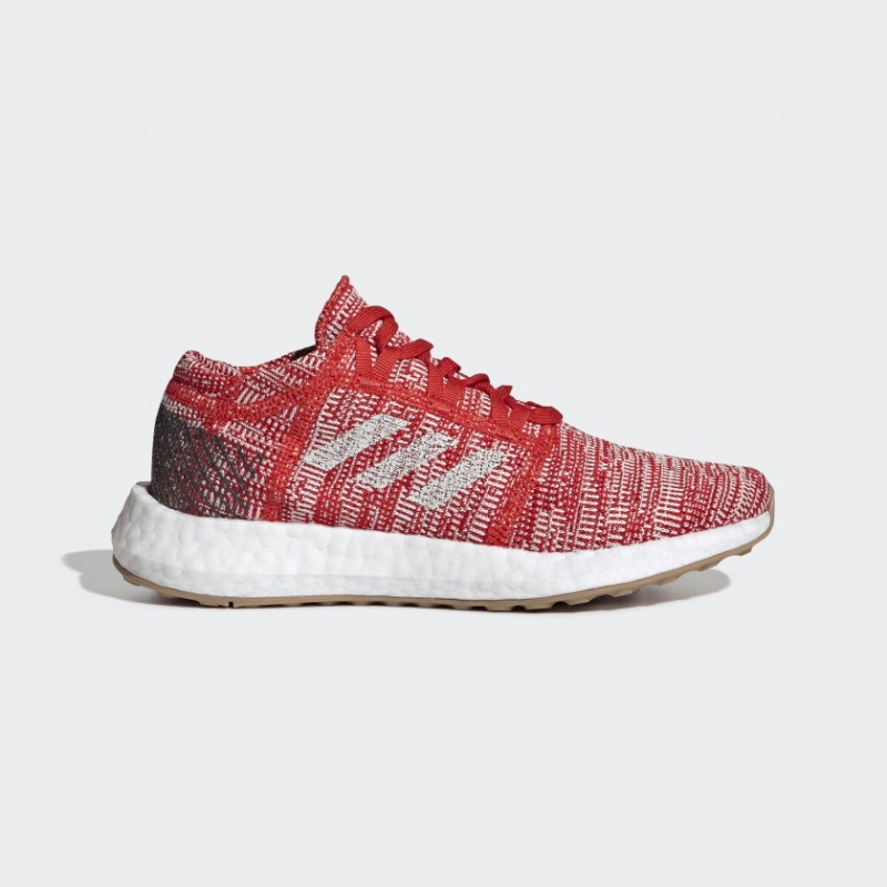 Pureboost Go Chaussures Active Rouge/Raw Blanche/Carbon F34006