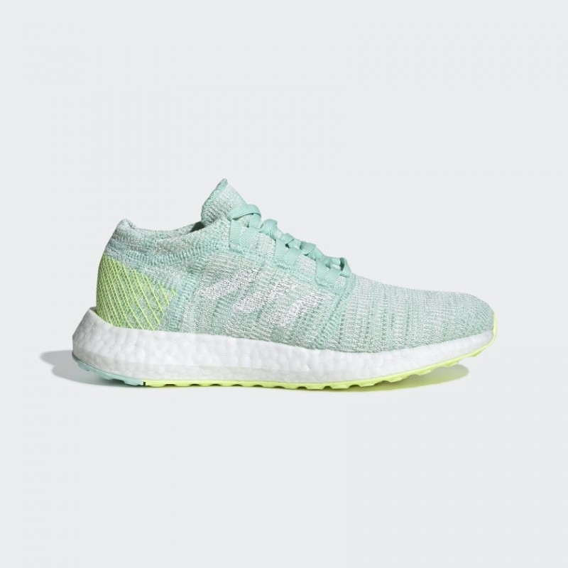 Pureboost Go Chaussures Clear Mint/Blanche/Raw Blanche F34009