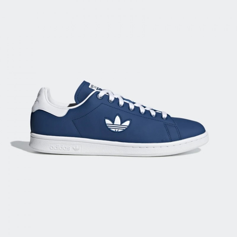 Adidas Stan Smith Blanche Marine G27998