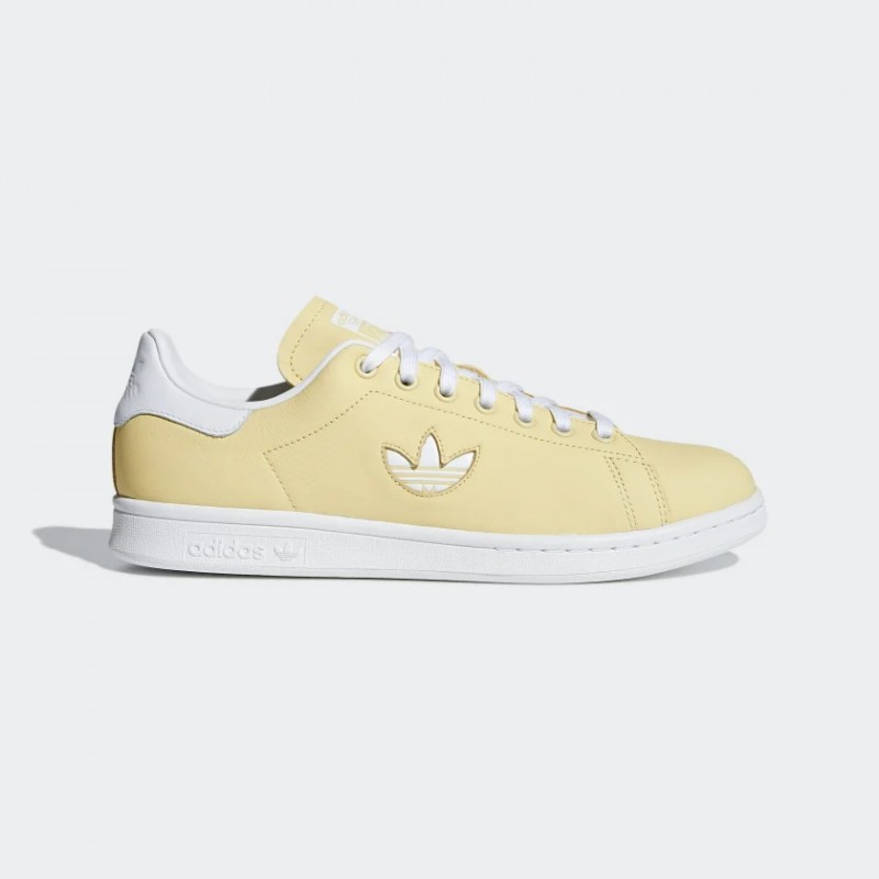 Homme Adidas Originals Stan Smith Chaussures Jaune BD7438