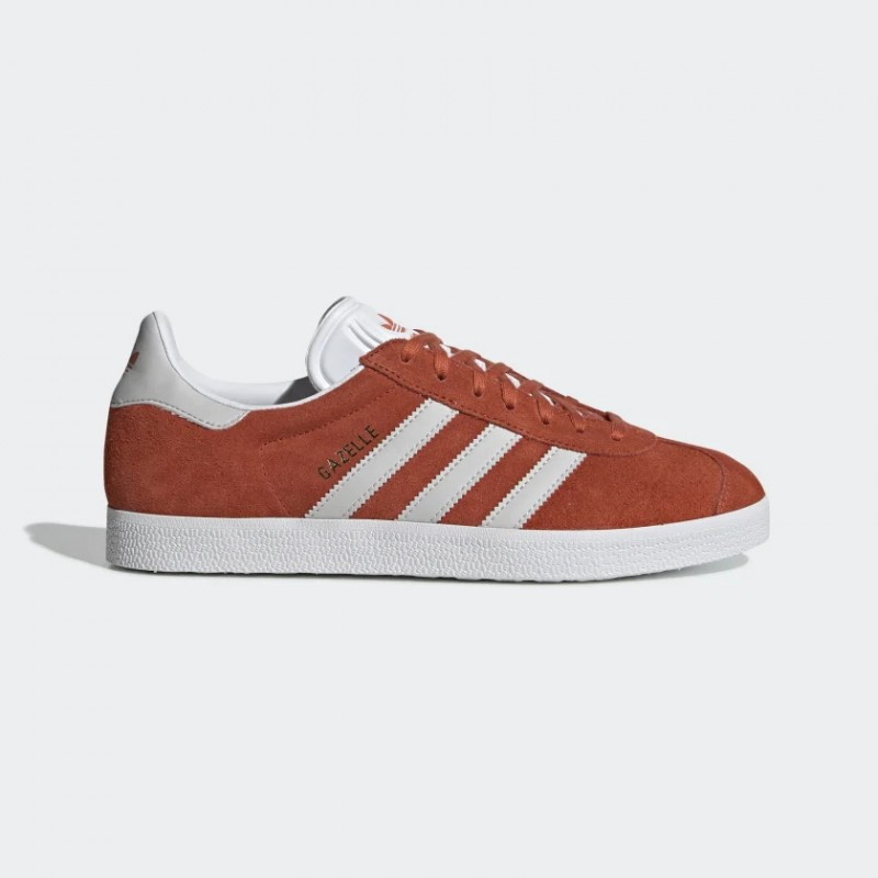 Homme Adidas Originals Gazelle Chaussures Orange BD7498