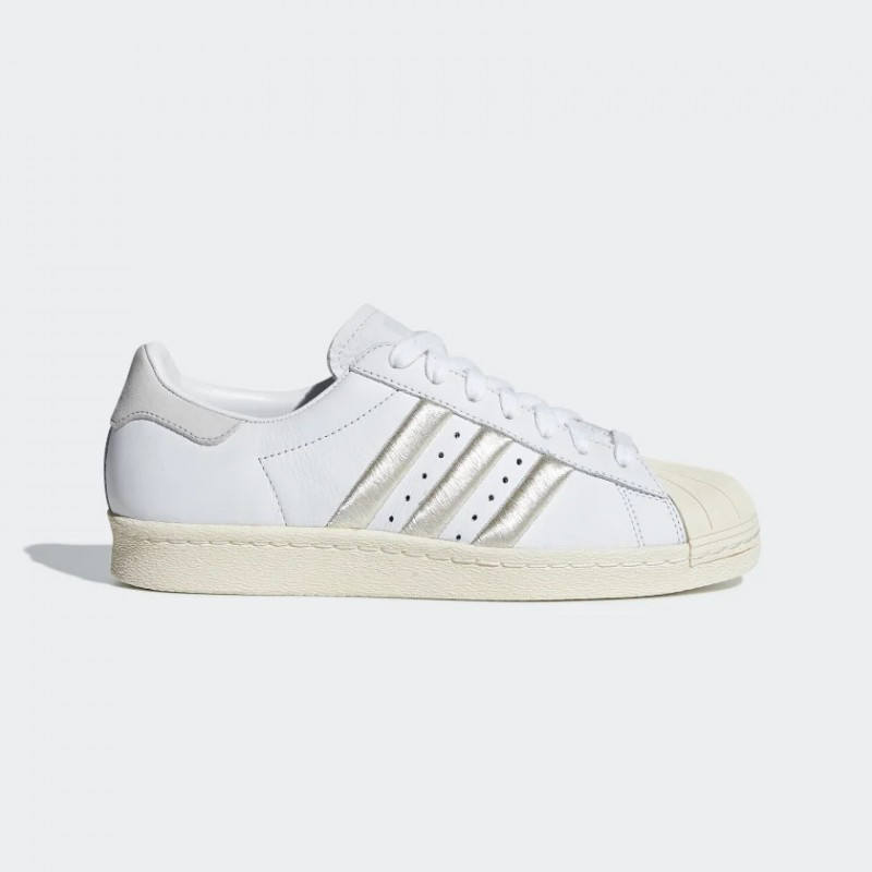 Superstar 80s Chaussures Blanche/Gris One/Blanche CG5997