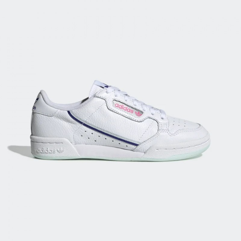 Adidas Continental 80 Blanche Ice Mint Femme - G27725