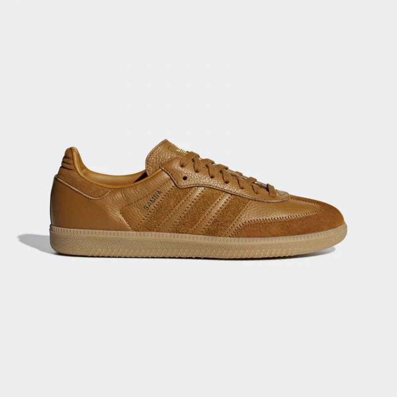 Samba OG FT Chaussures Craft Ochre/Craft Ochre/Or Metallic CG6134