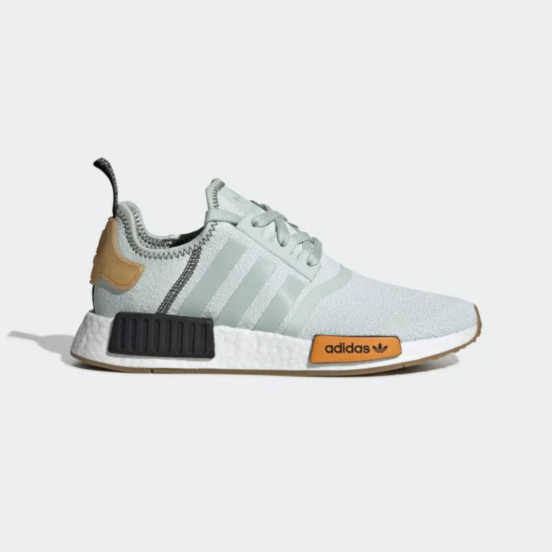 NMD_R1 Chaussures Vapour Vert/Vapour Vert/Bright Or BD8028