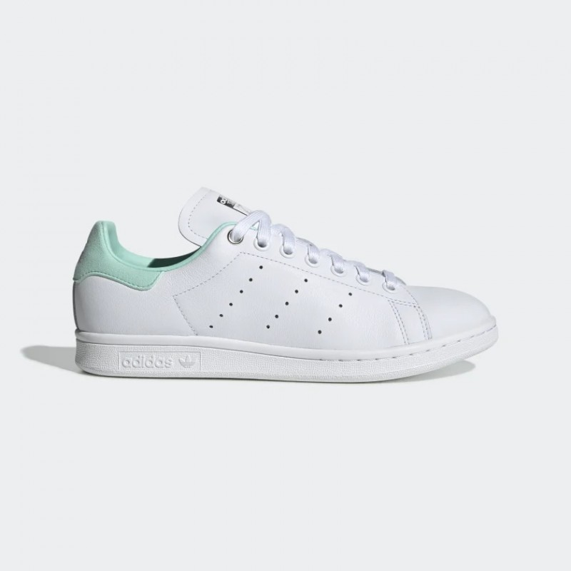 Stan Smith Chaussures Blanche/Argenté Metallic/Clear Mint G27908