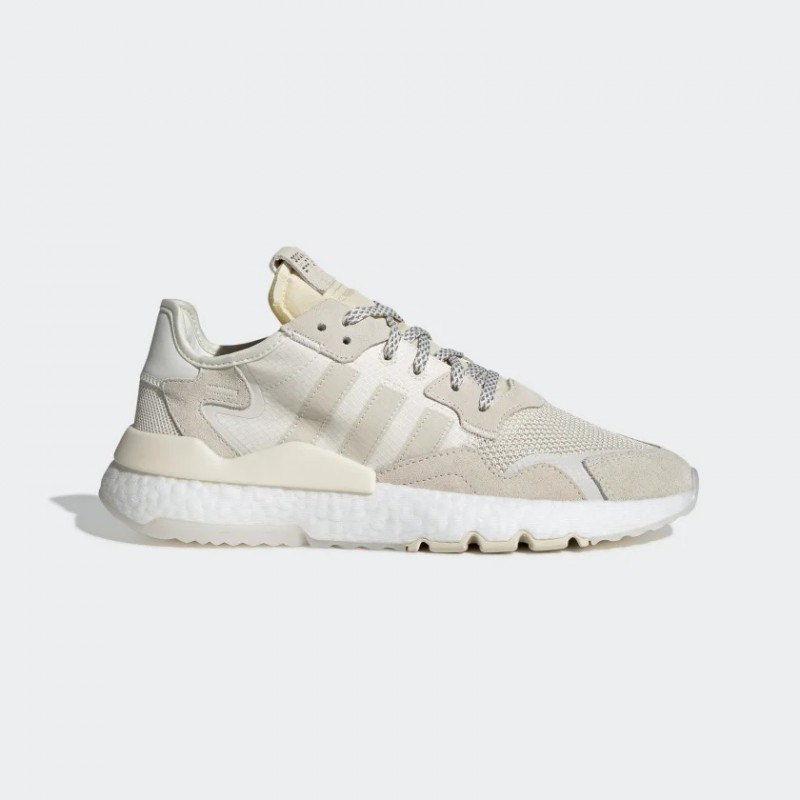 Nite Jogger Chaussures chalk Blanche/Blanche/ecru tint s18 EE8835