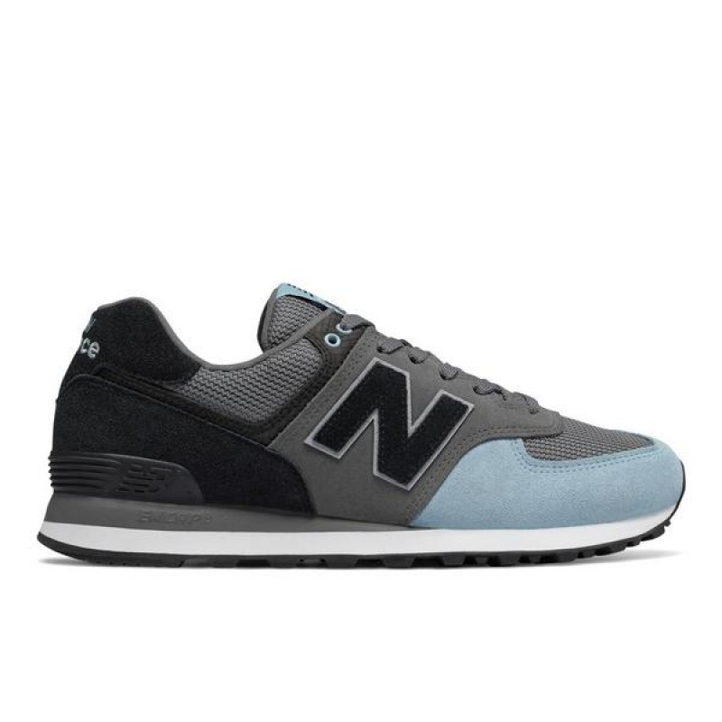 "New Balance 574 Reflective ""Gris"" Homme Baskets"