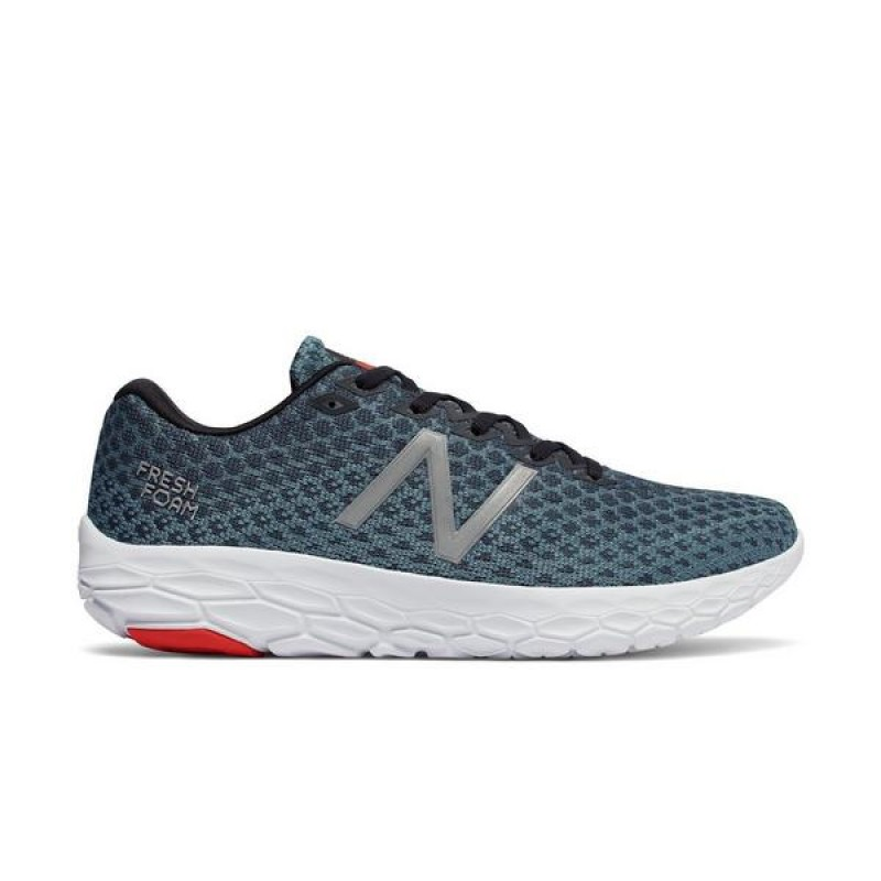 "New Balance Fresh Foam Beacon ""Bleu"" Homme Baskets MBECNPF"