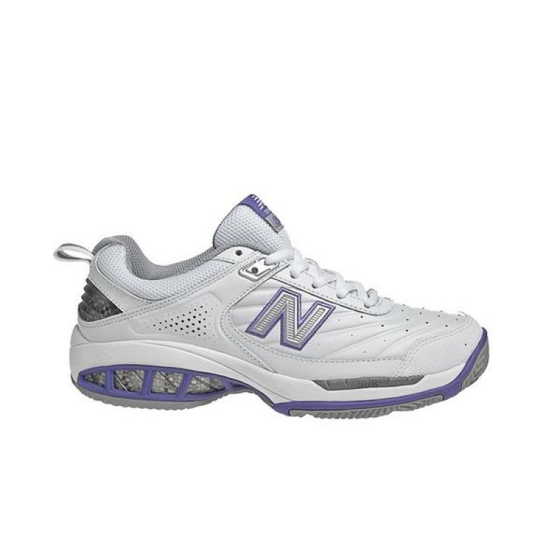 New Balance 806 Femme Tennis Chaussures Blanche WC806W