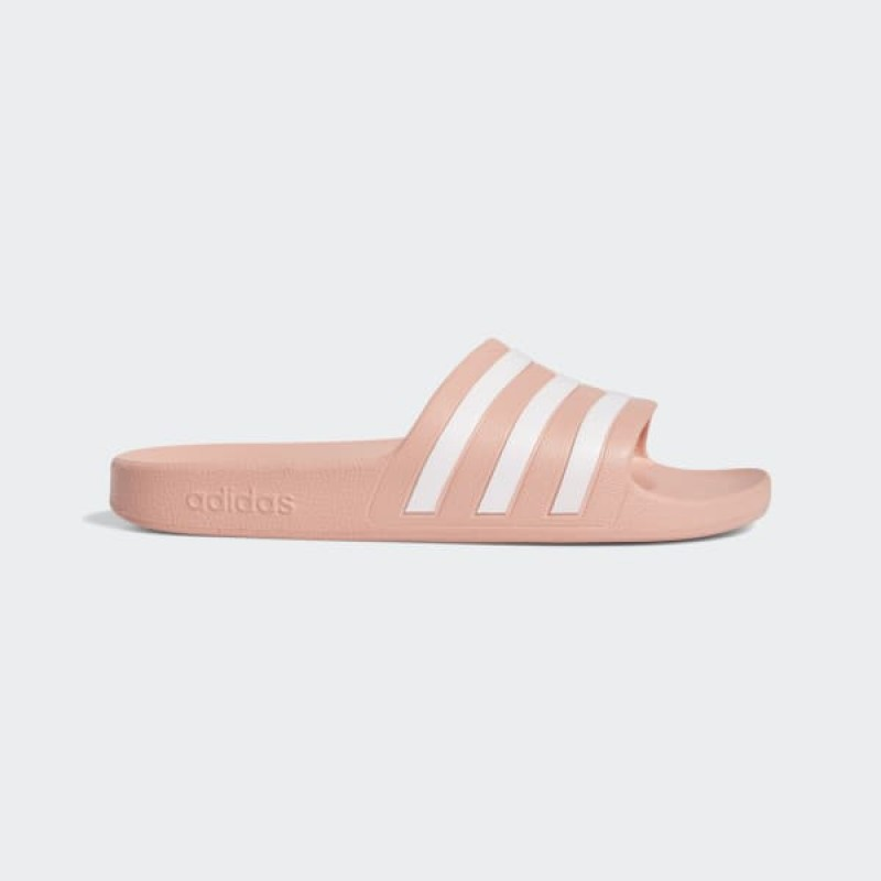 Adidas Femme Swim Adilette Aqua Slides Dust Rose/Blanche/Dust Rose G28714