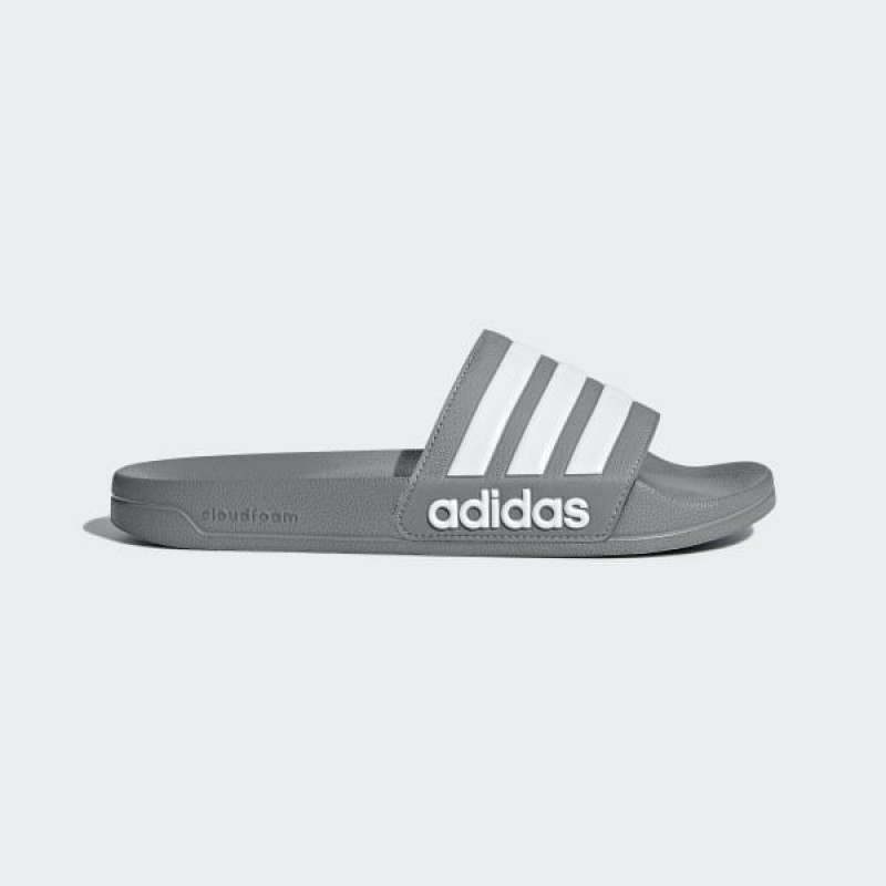 Adidas Homme Swim Adilette Cloudfoam Slides Gris Three/Blanche/Gris Three B42212