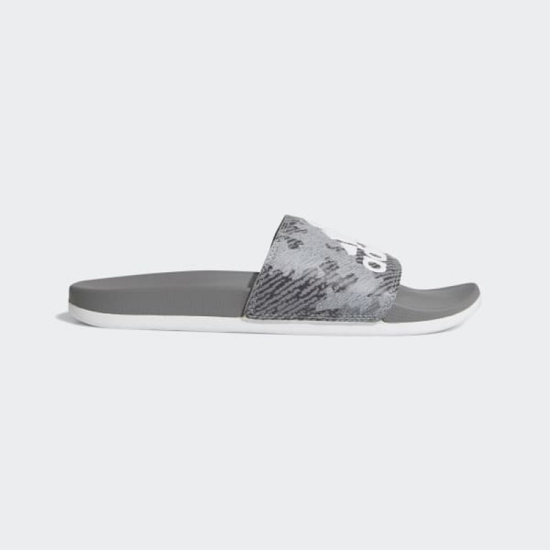 Adidas Homme Swim Adilette Comfort Slides Gris Three/Blanche/Gris Three F34727