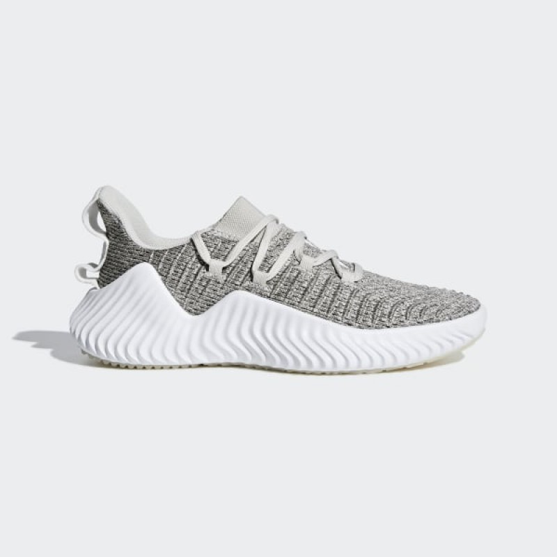Femme Alphabounce Trainer 'Raw Blanche Gris' - adidas - BB7242