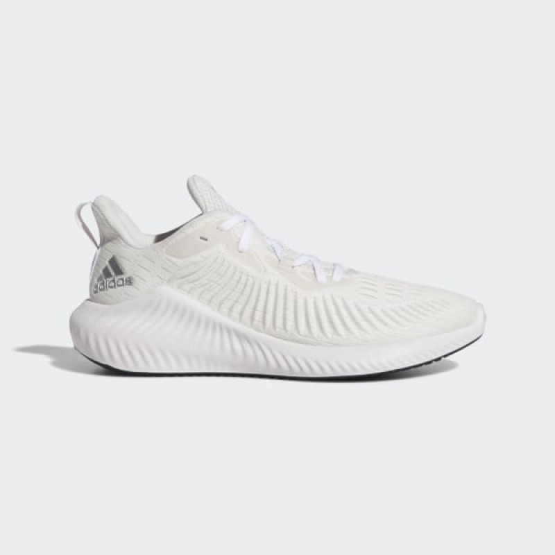 adidas Alphabounce+ Run Chaussures - Blanche - G54122