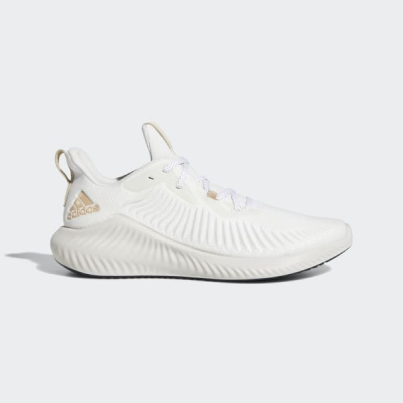 adidas Alphabounce+ Chaussures - Blanche - G28583