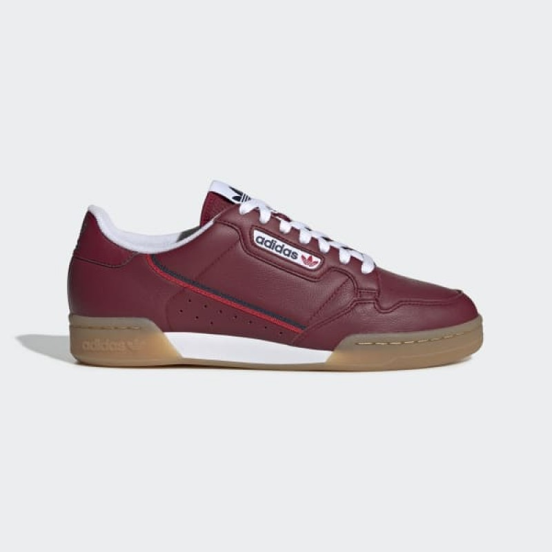 adidas Continental 80 Chaussures - Bordeaux - EE5394