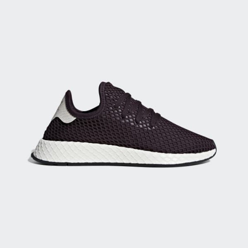 Adidas Deerupt Femme Noble Rouge & Raw Steel B41854