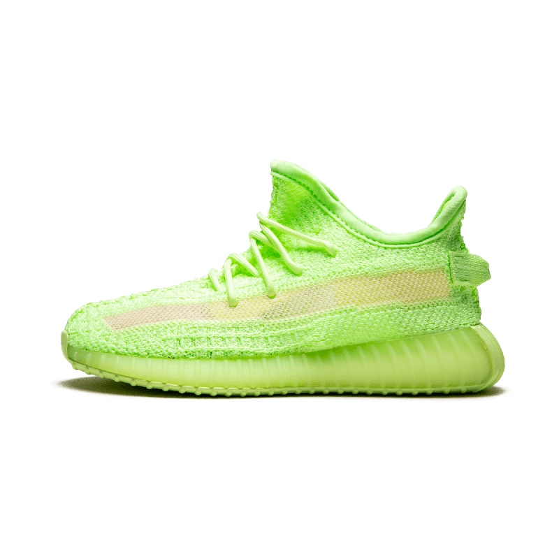 """Adidas Yeezy Boost 350 V2 GID Infant """"Glow in the Sombre"""" - EG6887"""