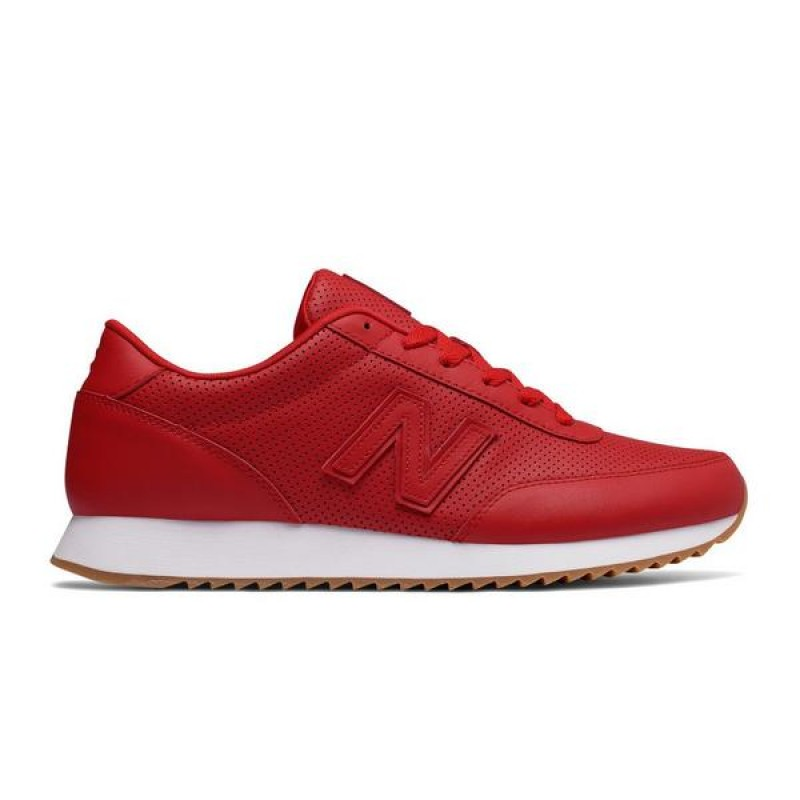 "New Balance 501 Ripple Sole ""Rouge/Blanche"" Homme Chaussures"