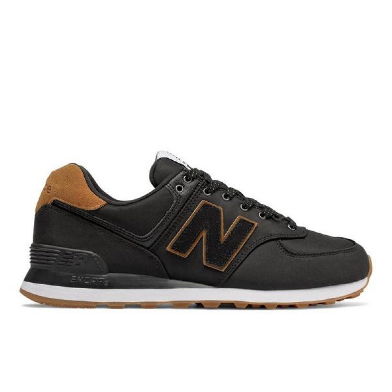 "New Balance 574 Backpack ""Noir/Marron"" Homme Chaussures"
