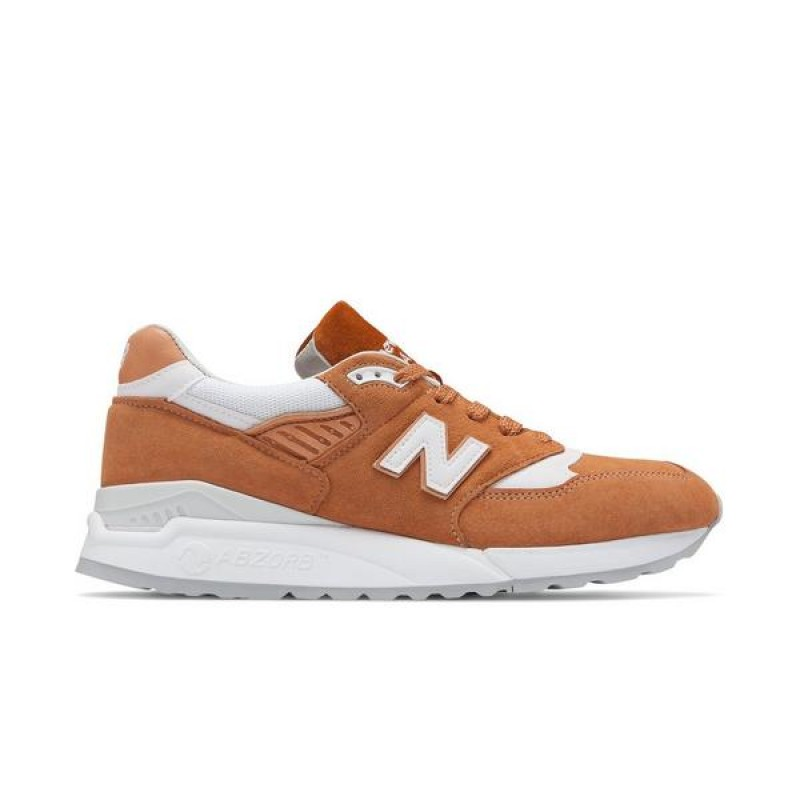 "New Balance 998 ""Marron Sugar"" Homme Chaussures"