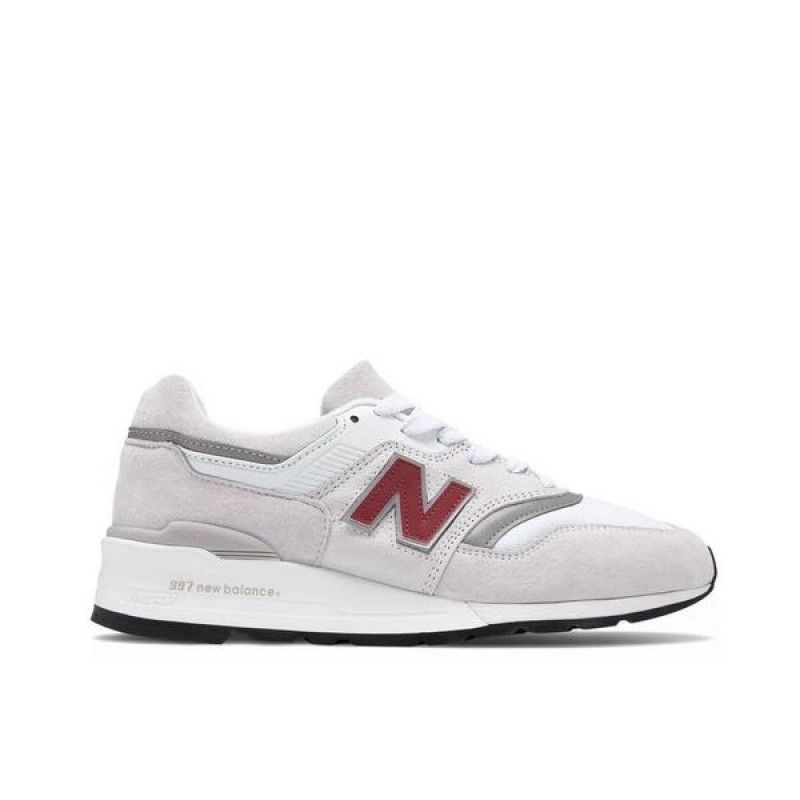 "New Balance 997 ""Velcro Gris/Multi"" Homme Chaussures"