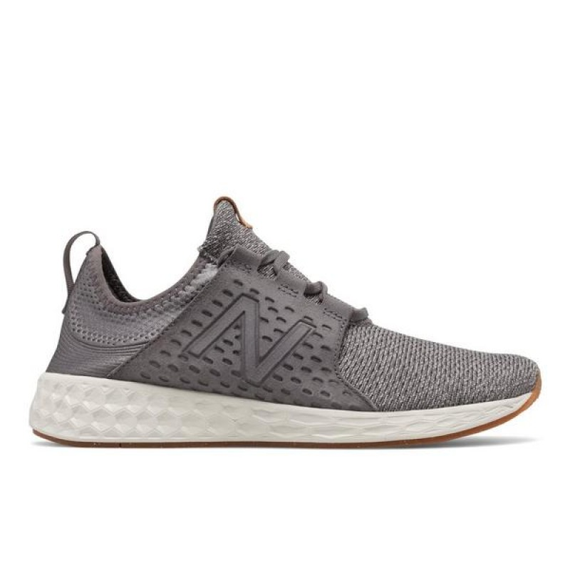 "New Balance Cruz ""Gris/Blanche"" Homme Baskets"
