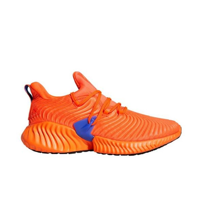 Alphabounce Instinct Chaussures Solar Rouge/Hi-Res Orange/Hi-Res Bleu BB7507