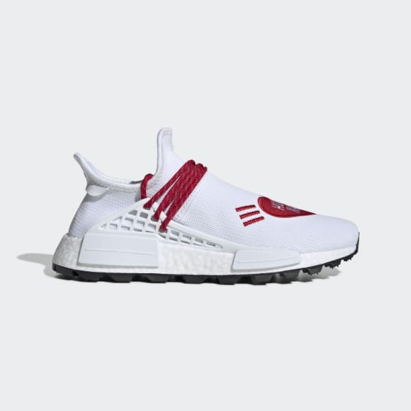 adidas Pharrell Williams Hu NMD Human Made Chaussures - Blanche - EF7223