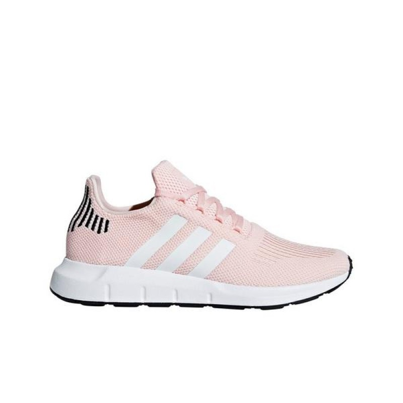 "Adidas Swift Run ""Gris/Rose"" Femme Baskets"