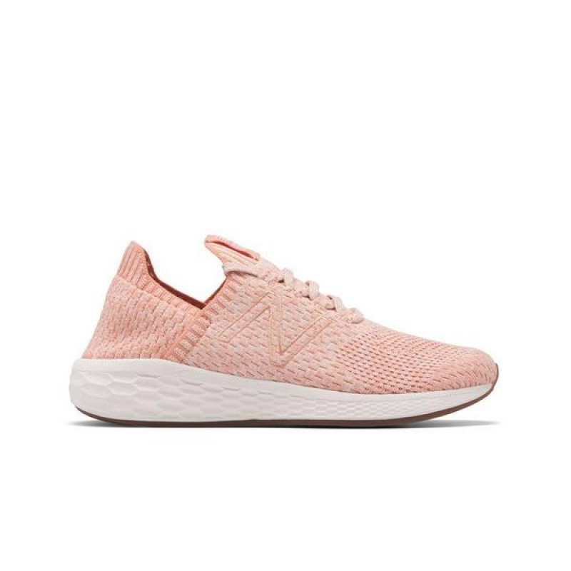 "New Balance Cruz SockFit ""Orange/Blanche"" Femme Chaussures"