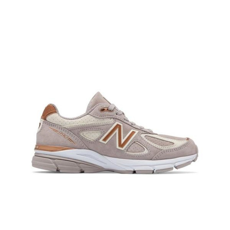 New Balance Femme 990v4 Made In USA 'Blanche Alabaster' W990FA4