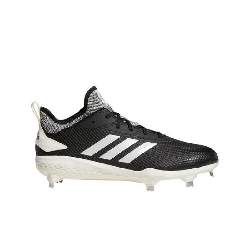 "Adidas adizero Afterburner V ""Noir/Blanche"" Homme Baseball Cleat"