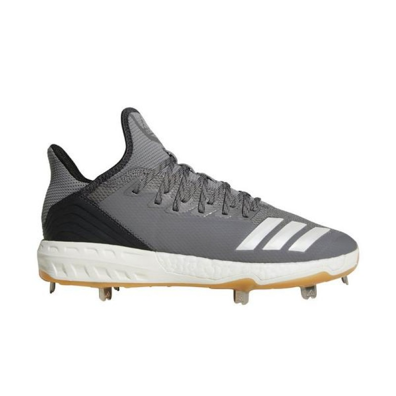 "Adidas Icon 4 ""Gris Gum"" Homme Baseball Cleat"