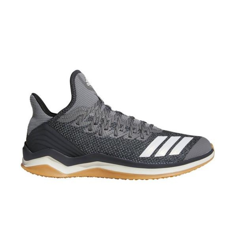 "Adidas Icon 4 Trainer ""Gris/Blanche"" Homme Baseball Chaussures"