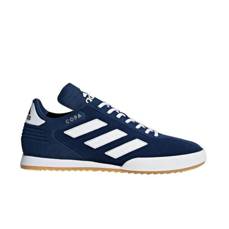 "Adidas Copa Super ""Marine/Blanche"" Homme Soccer Chaussures"