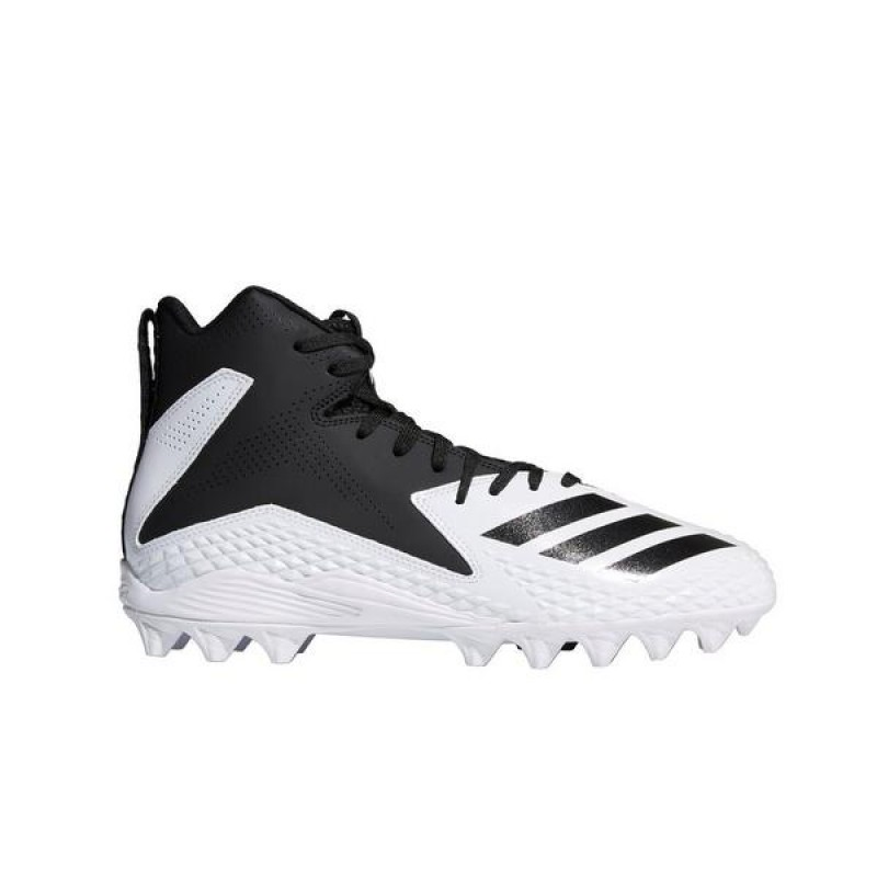 Adidas Freak Mid MD Homme Football Cleat Blanche/Noir