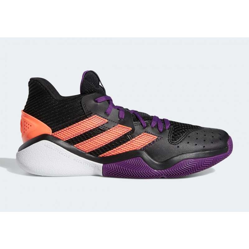 Adidas Harden Stepback Noir orange EF9889