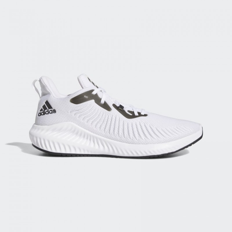 Adidas Alphabounce+ Chaussures Blanche/Noir/Gris Two EF8061