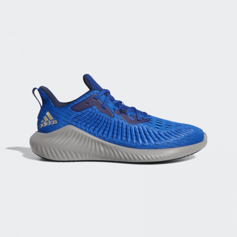 Adidas Alphabounce+ Chaussures Collegiate Royal/Cyber Metallic/Collegiate Marine EF1225