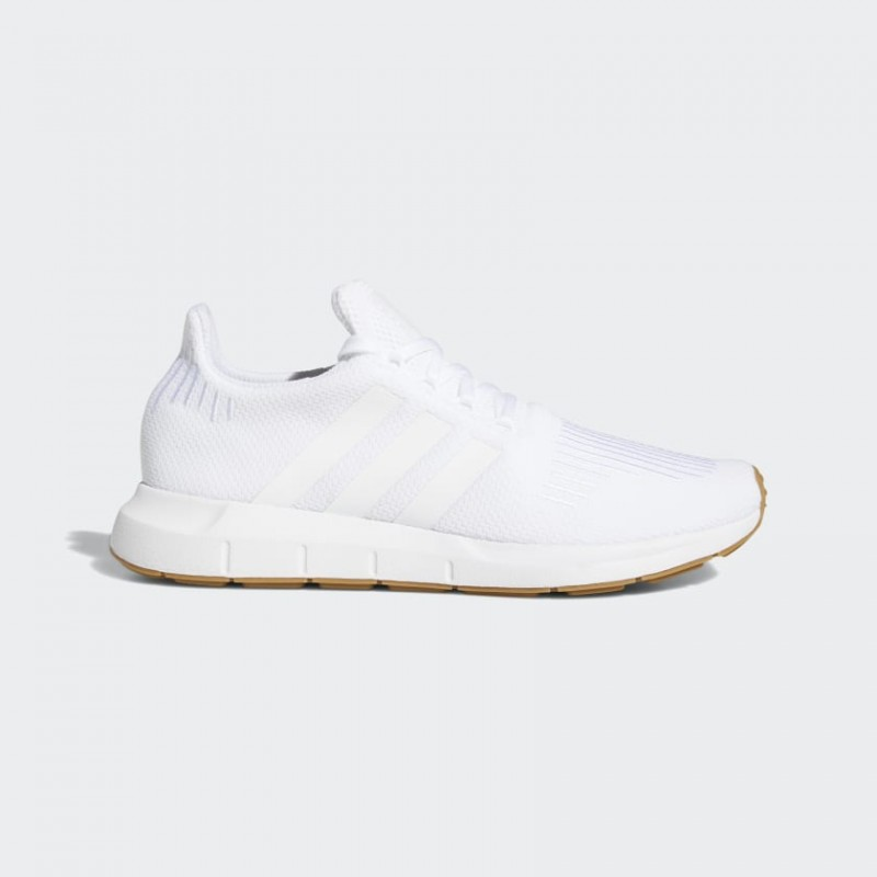 Adidas Swift Run Chaussures Blanche/Blanche/Gum F35206