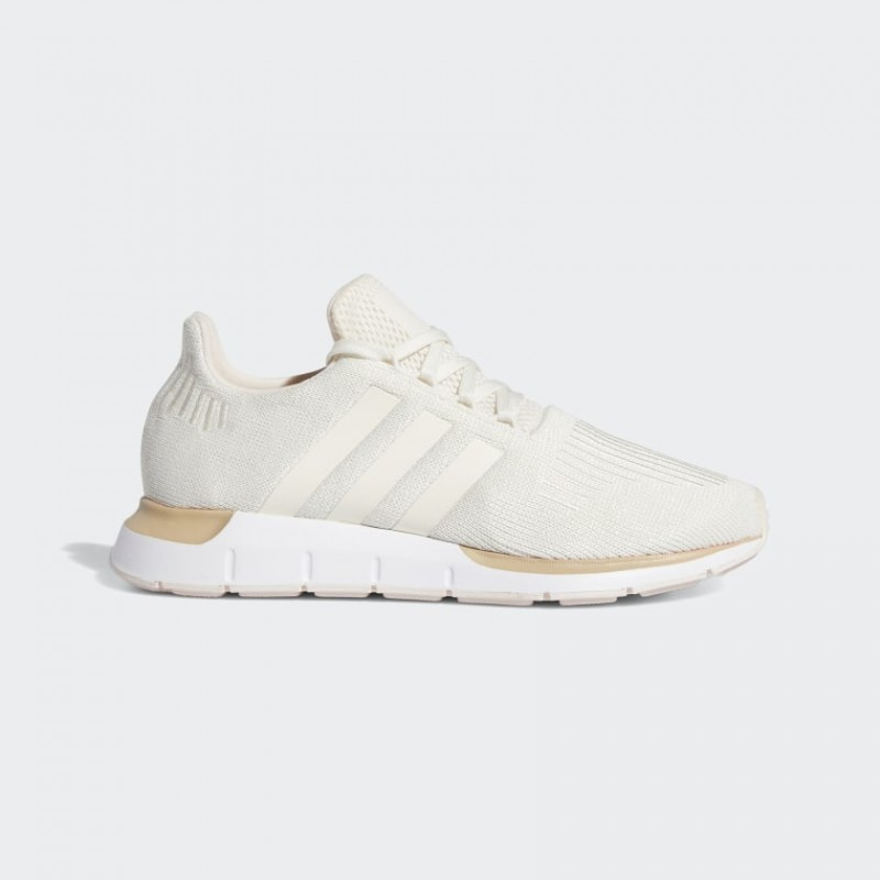 Adidas Swift Run Chaussures Chalk Blanche/Chalk Blanche/Supplier Colour FW6442
