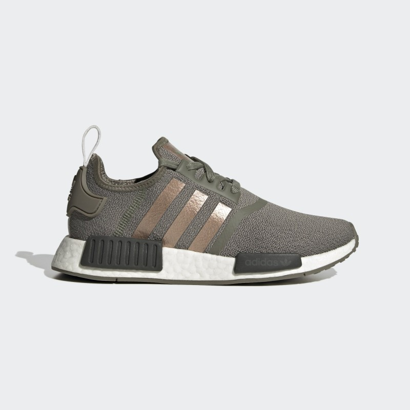 Adidas NMD_R1 Chaussures Legacy Vert/Copper Metallic/Legend Earth FX8832