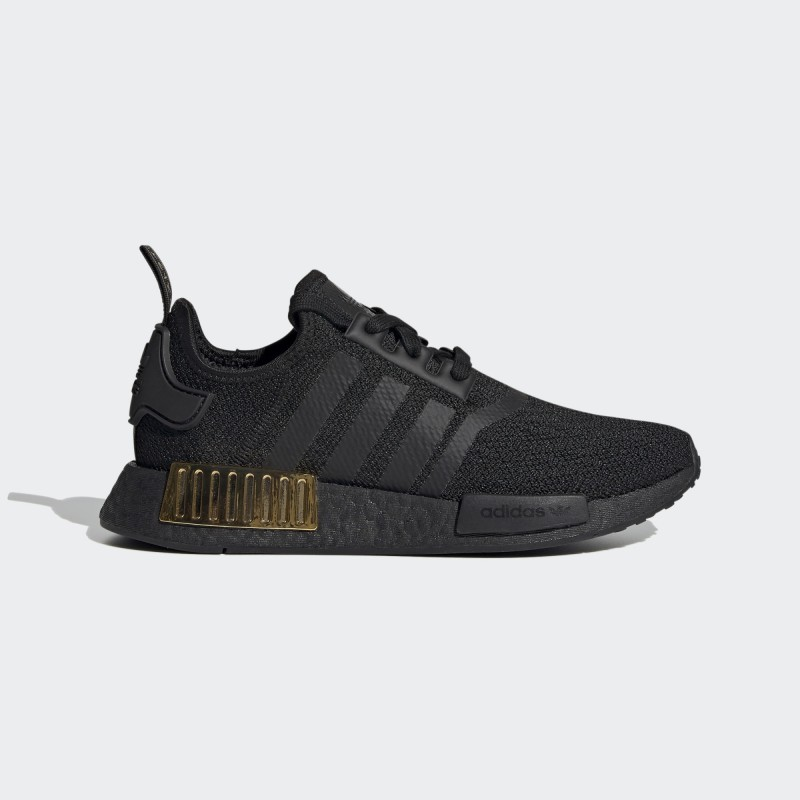 Adidas NMD_R1 Chaussures Core Noir/Core Noir/Or Metallic FV1787